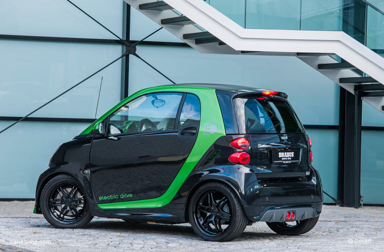smart fortwo 2 brabus electrique drive carissime l 39 info automobile. Black Bedroom Furniture Sets. Home Design Ideas