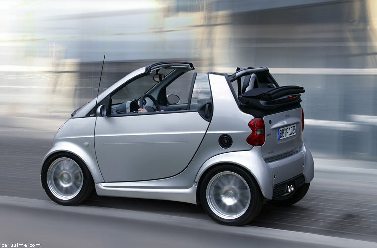 smart fortwo 1 brabus cabriolet photos. Black Bedroom Furniture Sets. Home Design Ideas
