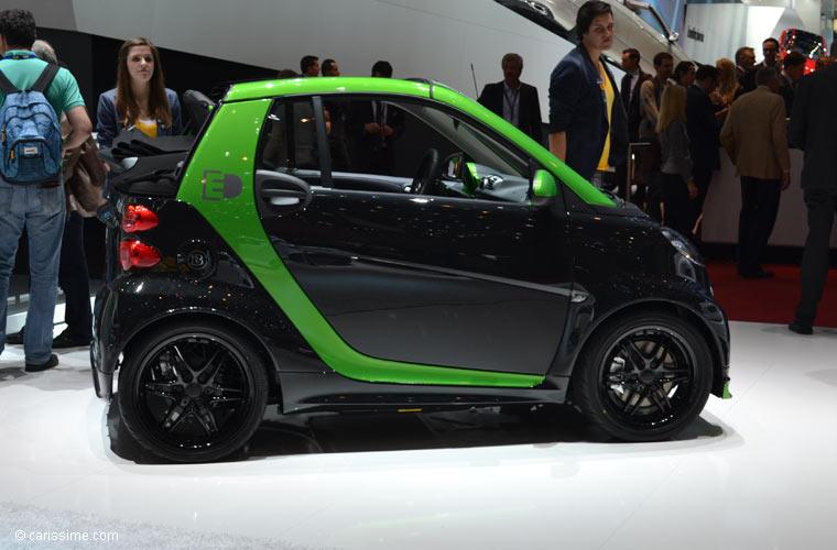 Smart au salon automobile de gen ve 2013 photos for Salon d auto geneve