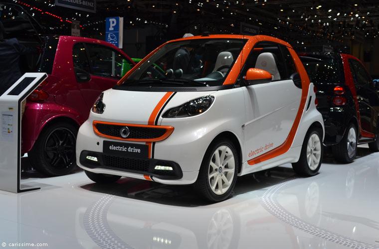 Smart au salon automobile de gen ve 2014 photos for Salon de geneve 2014