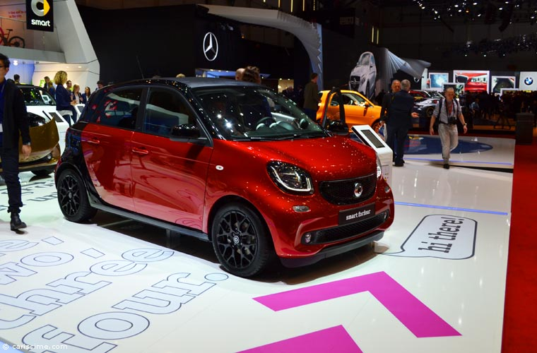 Smart au salon automobile de gen ve 2015 photos - Salon de geneve 2015 nouveaute ...
