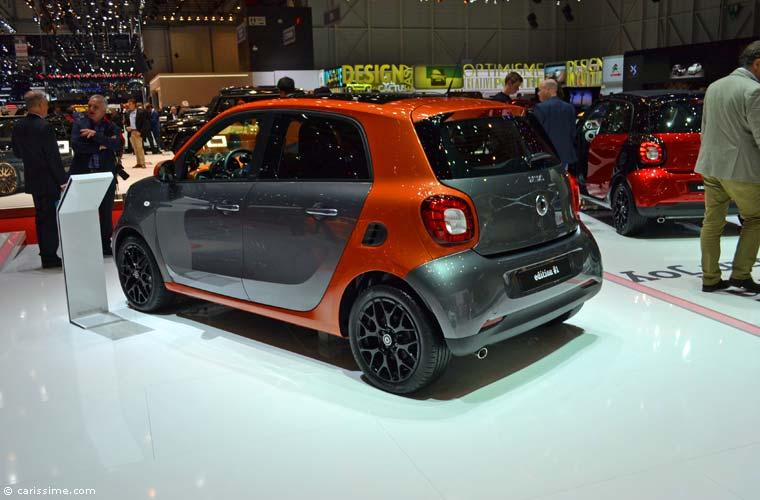 Smart au salon automobile de gen ve 2015 photos for Salon auto geneve 2015