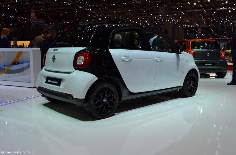 Smart au salon automobile de gen ve 2015 photos for Salon d auto geneve