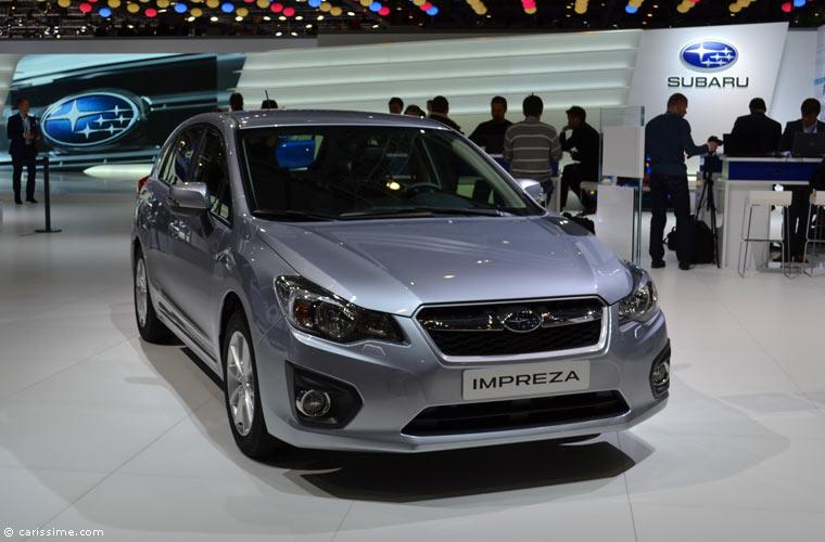 Subaru au salon automobile de gen ve 2014 photos for Salon d auto geneve