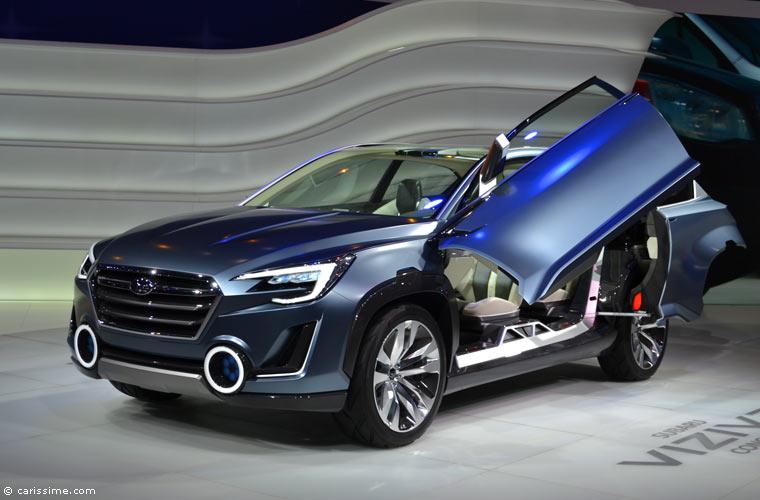 Subaru au salon automobile de gen ve 2014 photos for Salon de geneve 2014