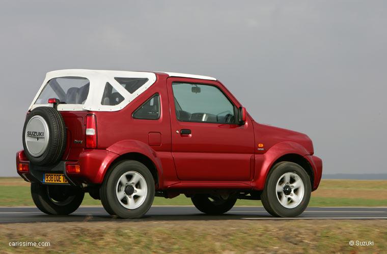 suzuki jimny cabriolet 1998 2012 voiture petit 4x4. Black Bedroom Furniture Sets. Home Design Ideas