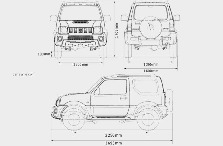 Suzuki Jimny Dimensions Uk