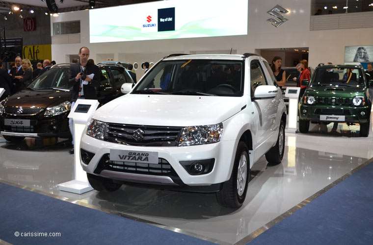 Suzuki au salon automobile de paris 2012 photos for Salon de paris auto