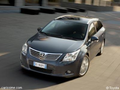 toyota avensis 3 2009 / 2012 : voiture familiale et break