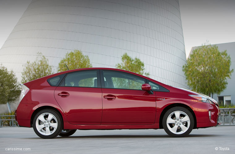 Toyota Prius 3 restylage 2012