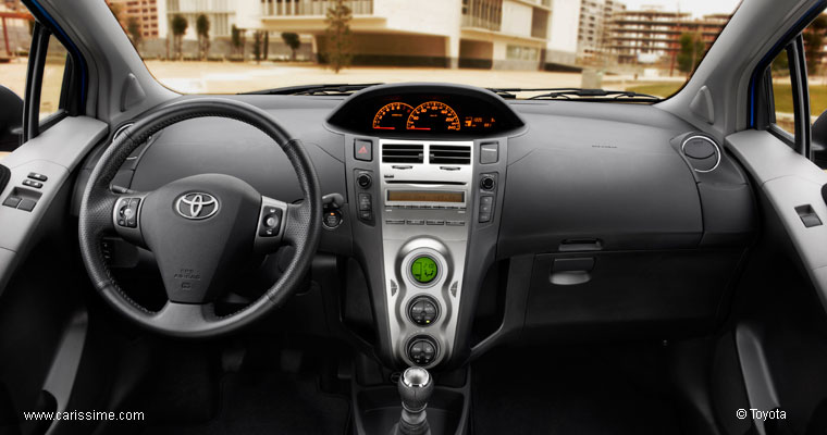 toyota yaris 2 restylage 2010 2011 voiture occasion. Black Bedroom Furniture Sets. Home Design Ideas