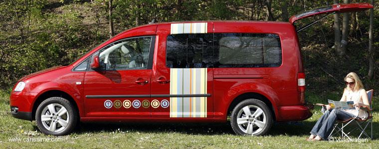 volkswagen caddy maxi tramper voiture volkswagen concept car. Black Bedroom Furniture Sets. Home Design Ideas