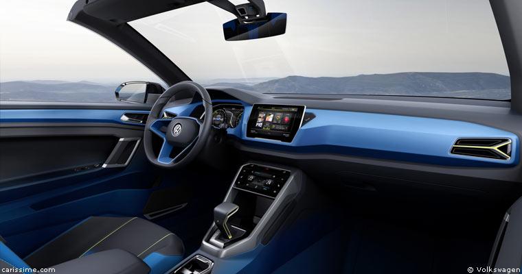 volkswagen t rock gen ve 2014 voiture concept car. Black Bedroom Furniture Sets. Home Design Ideas