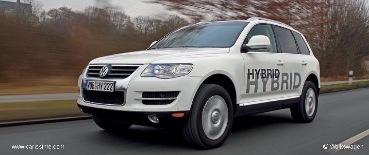 volkswagen concept touareg hybrid voiture volkswagen concept car. Black Bedroom Furniture Sets. Home Design Ideas