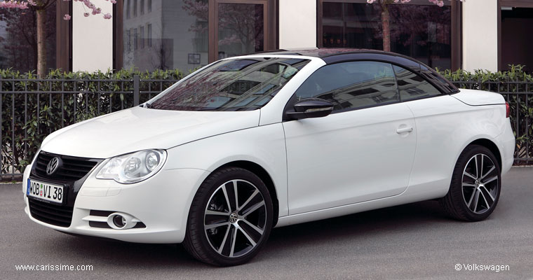 volkswagen eos white night voiture volkswagen eos auto neuve occasion. Black Bedroom Furniture Sets. Home Design Ideas