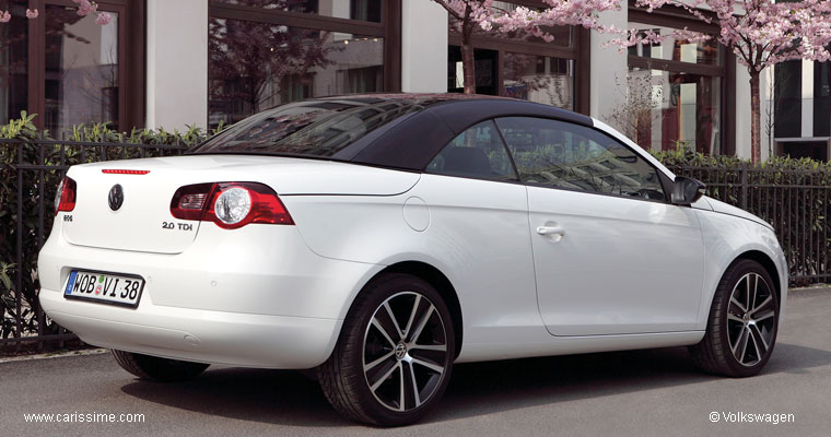 volkswagen eos white night voiture volkswagen eos auto. Black Bedroom Furniture Sets. Home Design Ideas