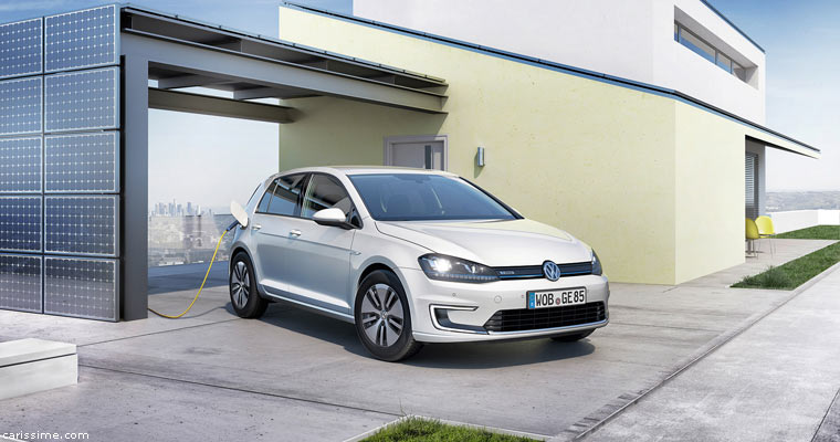 volkswagen e golf electrique 2014 carissime l 39 info automobile. Black Bedroom Furniture Sets. Home Design Ideas