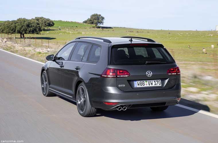 Volkswagen Golf 7 R Break 2015 Photos