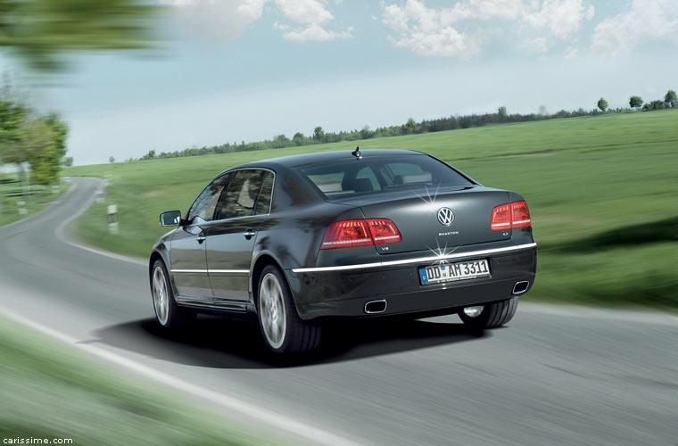 volkswagen phaeton restylage 2010. Black Bedroom Furniture Sets. Home Design Ideas