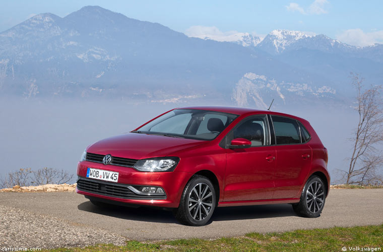 Volkswagen Polo 5 Restylage 2014