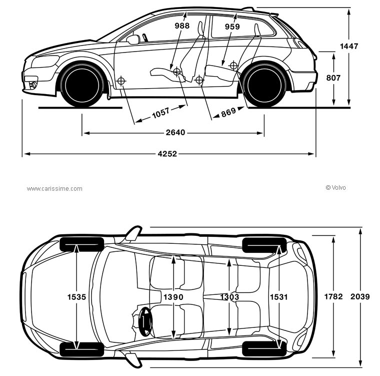 Dimensions Of Volvo C30 on 2002 toyota prius engine parts manual