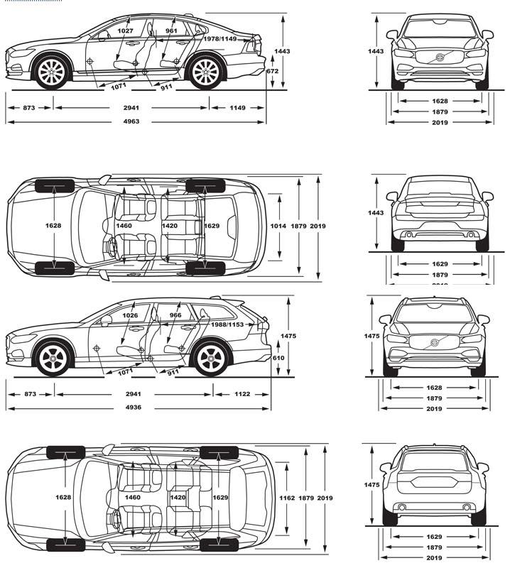 volvo s90 routi re 2016 carissime l 39 info automobile. Black Bedroom Furniture Sets. Home Design Ideas