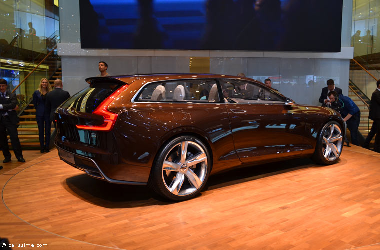Volvo au salon automobile de gen ve 2014 photos for Salon de geneve 2014