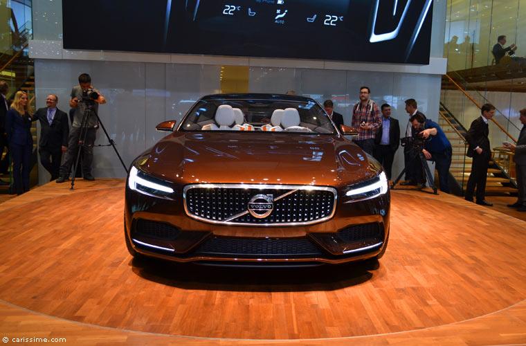 Volvo au salon automobile de gen ve 2014 photos for Salon d auto geneve