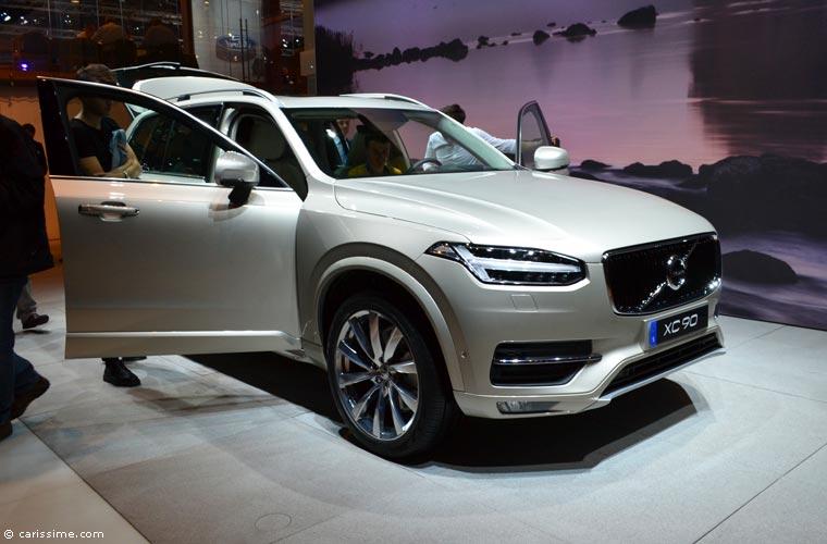 Volvo au salon automobile de paris 2014 photos for Salon de l auto paris
