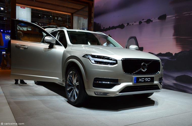Volvo au salon automobile de paris 2014 photos for Salon de paris auto