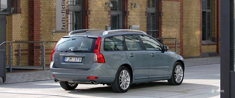 volvo v50 restylage 2007 voiture occasion. Black Bedroom Furniture Sets. Home Design Ideas